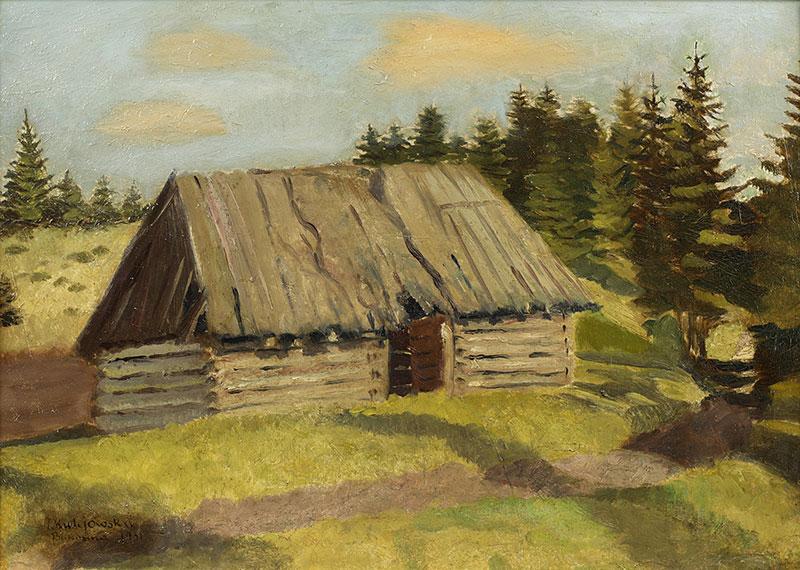 Szałas na Bukowinie, 1931 r.