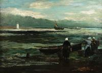 Na brzegu, 1919 r.