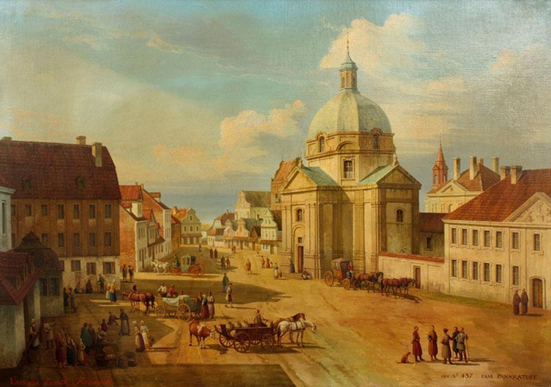 Kościół Sakramentek na Nowym Rynku w Warszawie