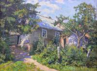 Chata w ogrodzie, 1919 r.