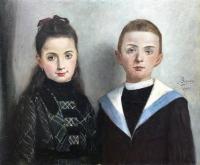 Para dzieci, 1901 r.