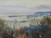 Port gdyński - Oksywie, 1976 r.