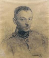 Portret Stanisława Sawiczewskiego, 1920 r.