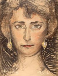 Portret kobiety – Janiny Czerbakowej z d. Soborskiej, II voto Bulandowej, 3 IX 1929 r.