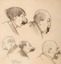 Karykatury, 1916 r.