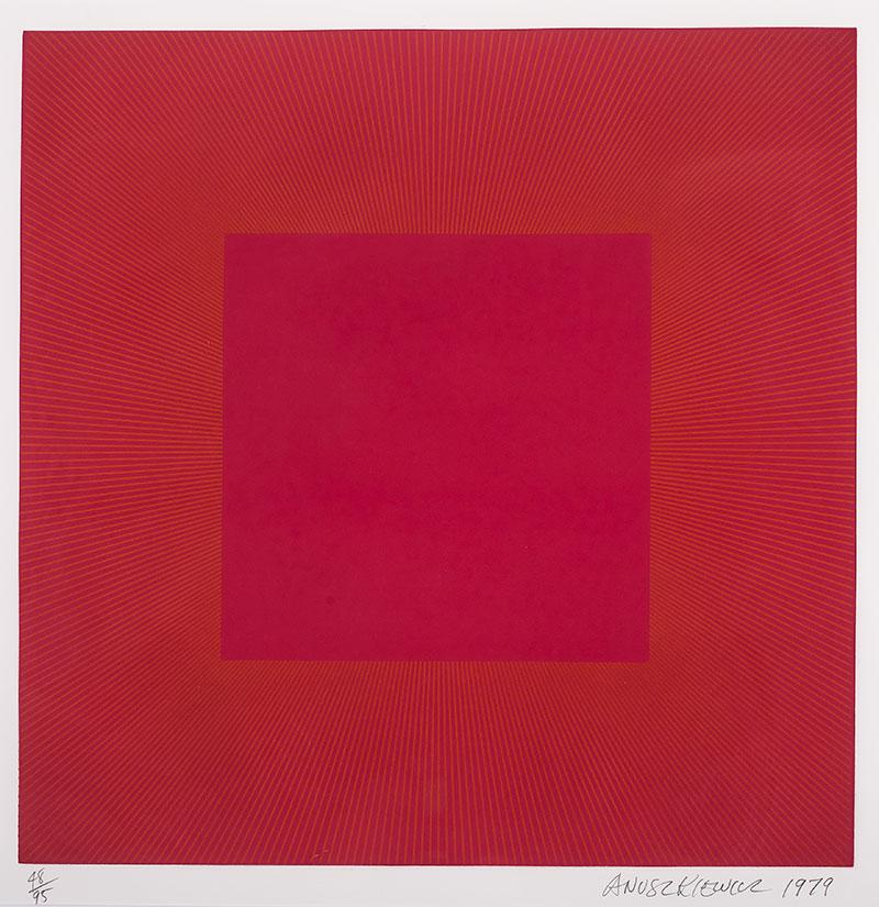 Summer Suite (Red with Gold II), 1979 r.