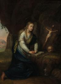 Pokutująca święta Maria Magdalena, 1823 r.