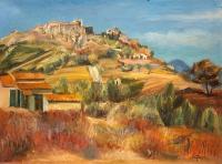Wzgórze Six-Fours w pobliżu Sanary, ok. 1925 r.