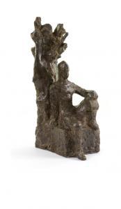 Prometeusz, odlew z brązu według gipsu z lat 60-tych XX wieku