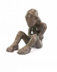 Kobieta siedząca