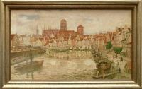 Panorama Gdańska, przed 1939 r.
