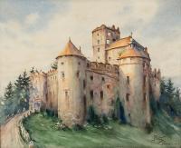 Zamek w Niedzicy, 1913 r.
