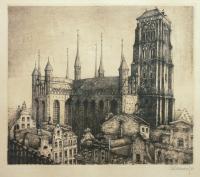 Bazylika Mariacka, 1921 r.