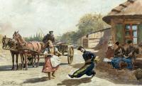 Zaloty, 1887 r.