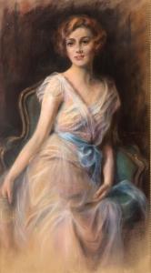 Portret damy, 1909 r.
