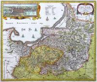 Tabula Prussiae eximia cura conscripta… Mapa Prus Wschodnich, 1633