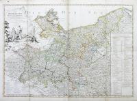 Karte von der Mark Brandenburg...