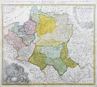 Mappa Geographica Regni Poloniae ex novissimis…