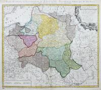 Mappa Geographica Regni Poloniae...