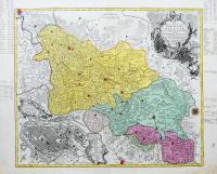 Nova Mappa Geographica Totius Ducatus Silesiae Tam Superioris…