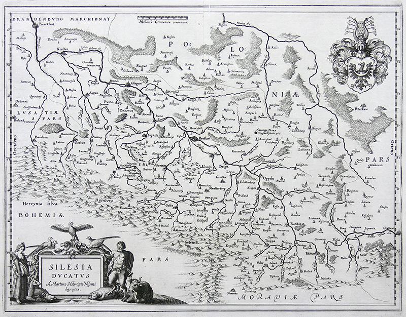 Silesia Ducatus A Martino Helwigio Nisseni descriptus