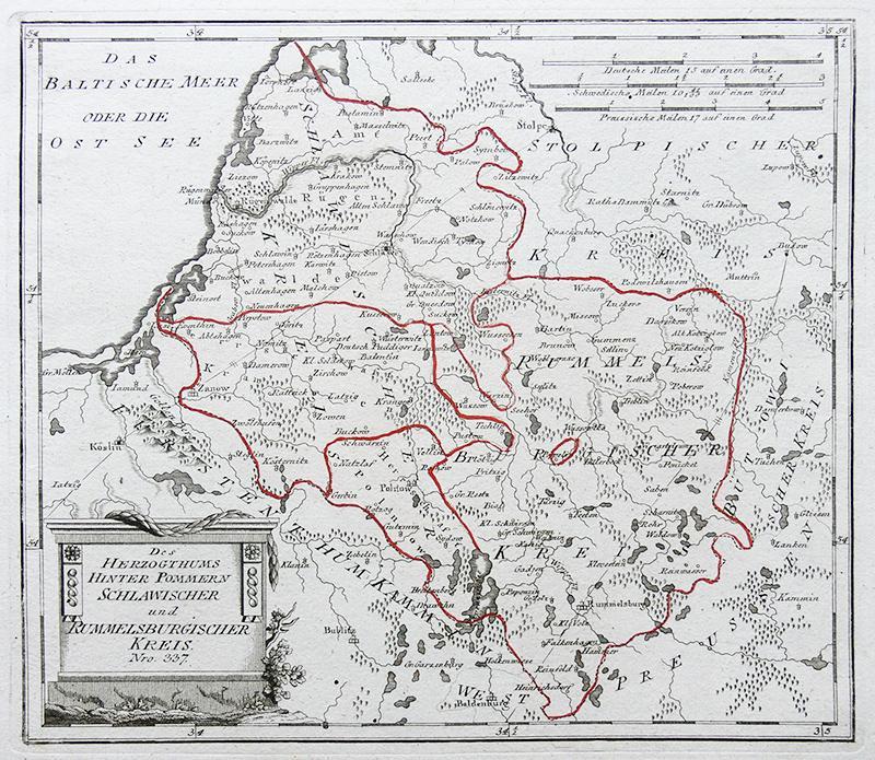 Des Herzogthums Hinter Pommern Schlawischer und Rummelsburgischer Kreis Nro. 337