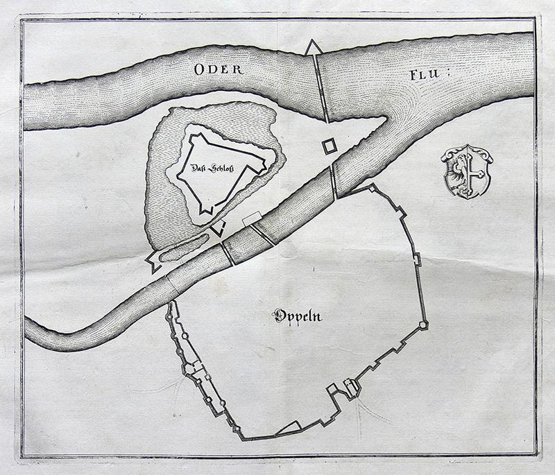 Plan umocnień Opola
