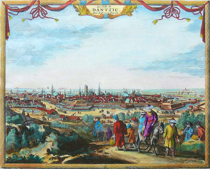 La Ville de Dantzic dans la Prusse Royale