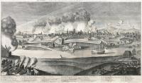 Dantzigim Prospect der Weichsel-Seite, unter der Russisch-Sächsischen Belagerung 1734