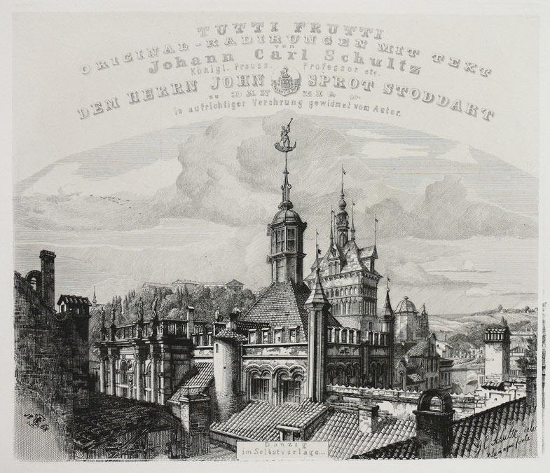 Tutti Frutti: malerischen Original-Radirungen mit Text. Danzig [1871], Im Verlage des Autors
