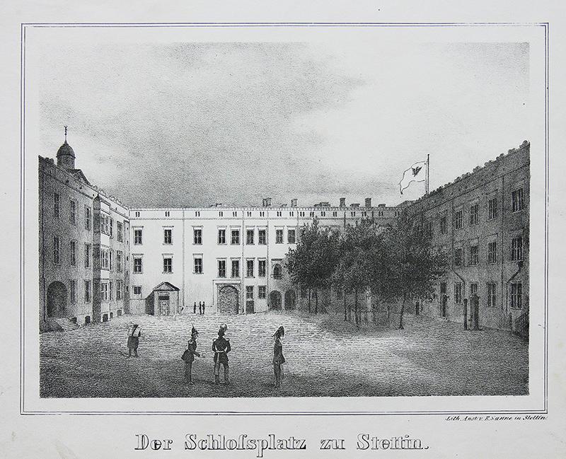Der Schlossplatz zu Stettin