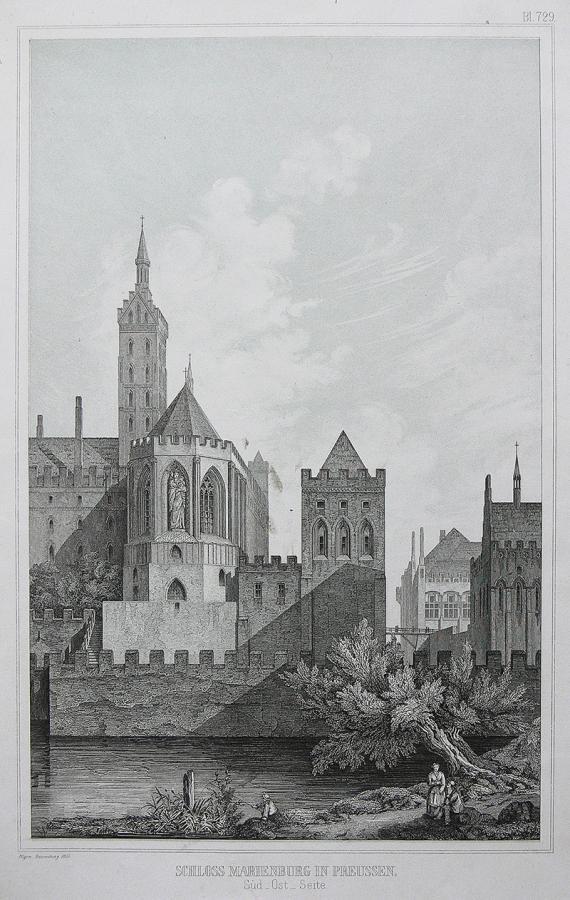 Schloss Marienburg in Preussen