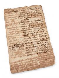 List do cesarza Rudolfa II Habsburga, 1585 r.