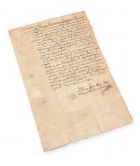 List do Rady Miasta Gdańska, 1584 r.