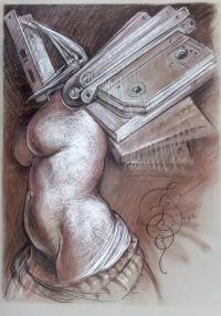 Kobieta z zamkami, 1999