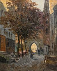 Brama Mariacka w Gdańsku, 1927 r.