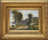 Pejzaż z drogą, 1881 r.