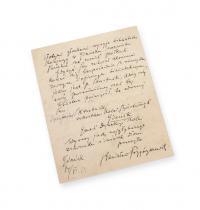 Rękopis Stanisława Przybyszewskiego (1868?1927)