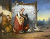 Karmiąca kaczki