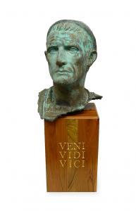 Głowa Juliusza Cezara,  XX w.