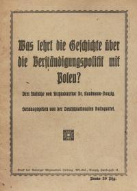 Broszura propagandowa, 1927 r.