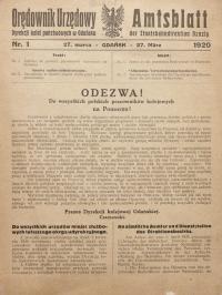 Odezwa do polskich pracowników kolejowych na Pomorzu, 1920 r.