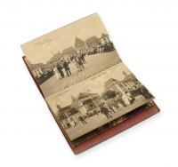 Komplet 12 pocztówek z widokami Sopotu, początek XX w.
