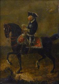 Portret konny Fryderyka II von Hohenzollern, ok. 1776 r.
