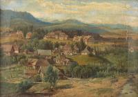 Pejzaż górski, 1883 r.