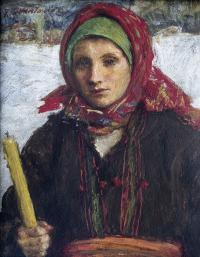 W dzień Matki Boskiej Gromnicznej, 1937 r.