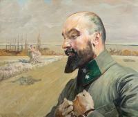 Portret Józefa Krupińskiego, 1915 r.
