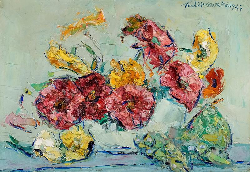 Bukiet kwiatów, 1947 r.