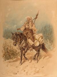 Hucułka, 1888 r.