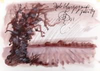 Dąb, z cyklu Pejzaże akwitańskie, 1991